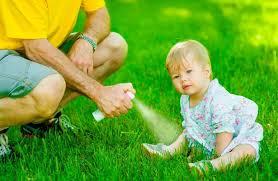 Средства защиты от комаров, мух, ос...